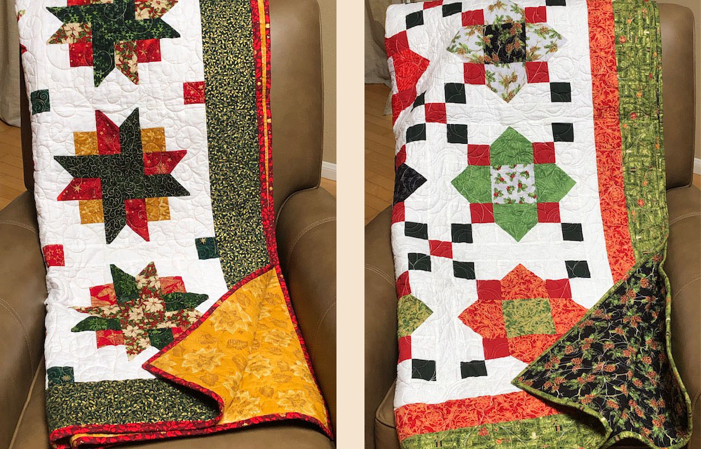 Two quilts to be auctioned