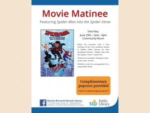 Movie Matinee Flyer