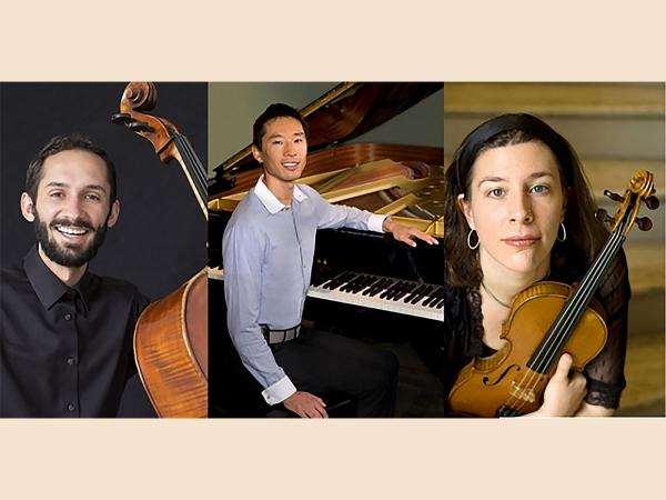 Daniel Frankhuizen (cello); Byron Chow, M.D. (piano); Lauren Basney (violin)