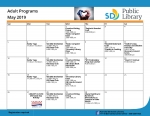 May Adult Activities Calendar