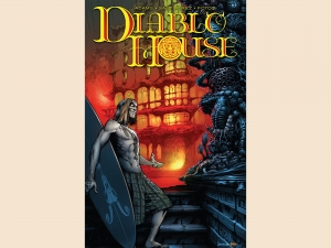 "Cover of ""Diablo House"" by Ted Adams, a San Diego author"