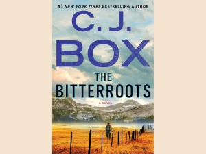 Cover of C. J. Box's The Bitterroots novel