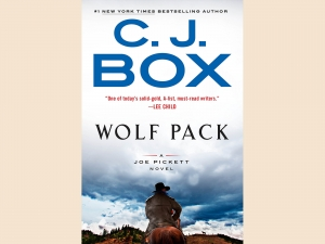 "Cover of CJ Box' Novel ""Wolf Trap"""