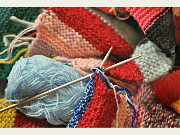 Knitting and yarns