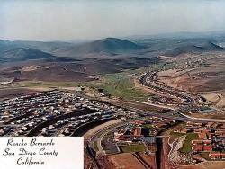 Aerial view of Rancho Bernardo circa 1970