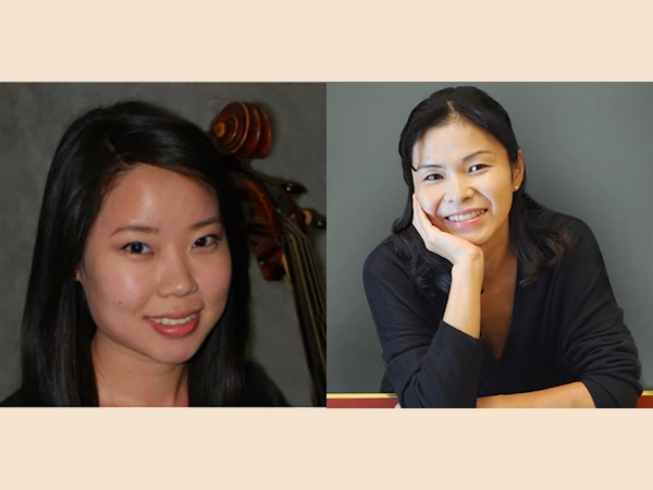 Chia-Ling Chien joins with harpsichordist Takae Ohnishi