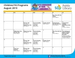 Children's Activities for August