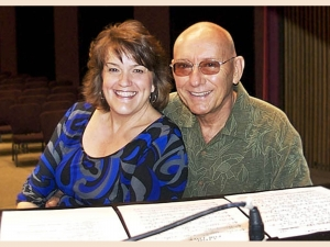 Holly Hofmann and Mike Wofford Jazz Artists