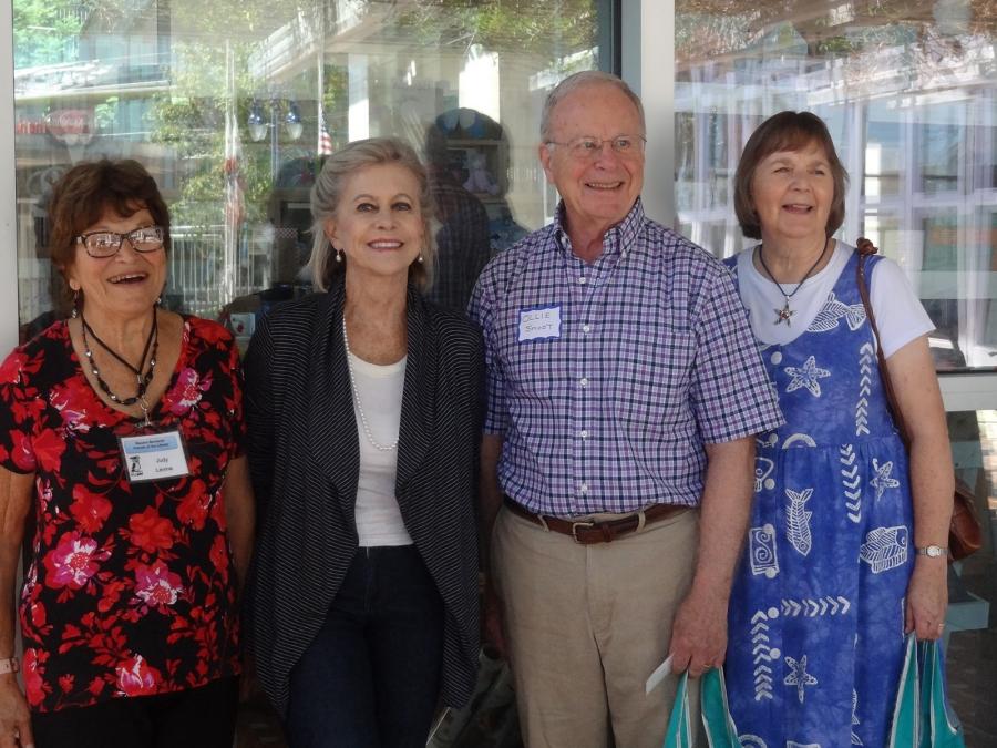 The four honorees from Rancho Bernardo